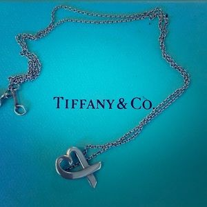 Tiffany heart necklace and pendant